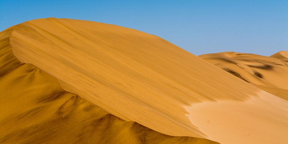 Dunes de sable près de Swakopmund