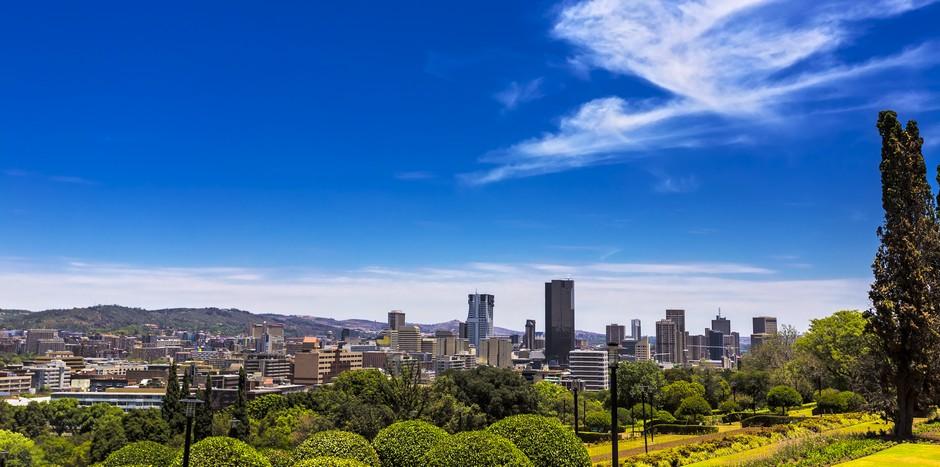 Vue panoramique sur Pretoria