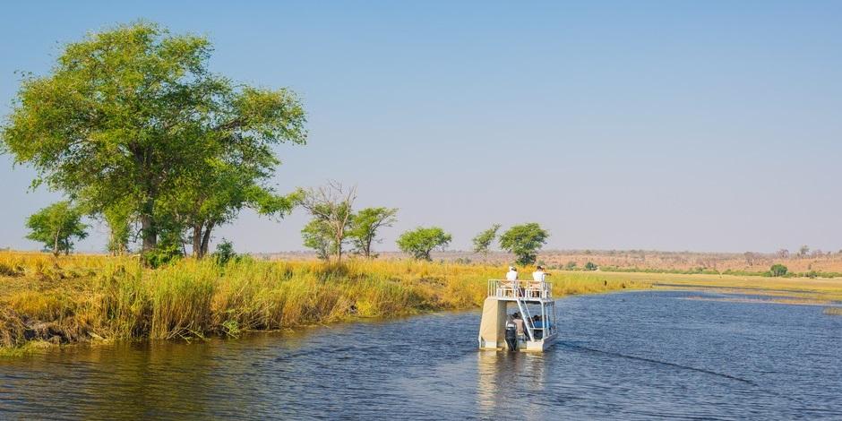 Chobe National Parc au Botswana