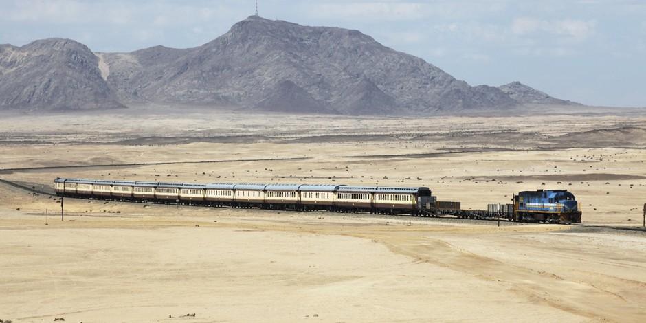 Train près de Swakopmund