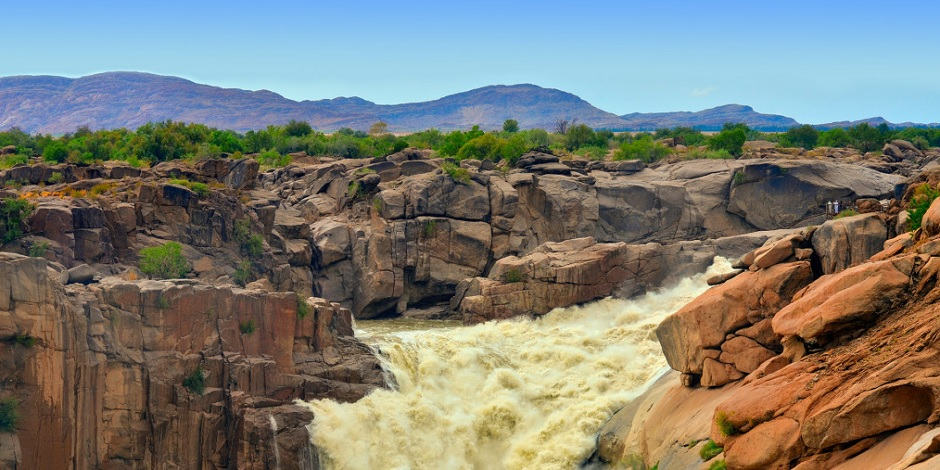 Une des chutes d'eau les plus sauvages